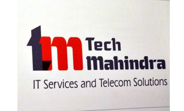 tech mahindra gains on good q2 results