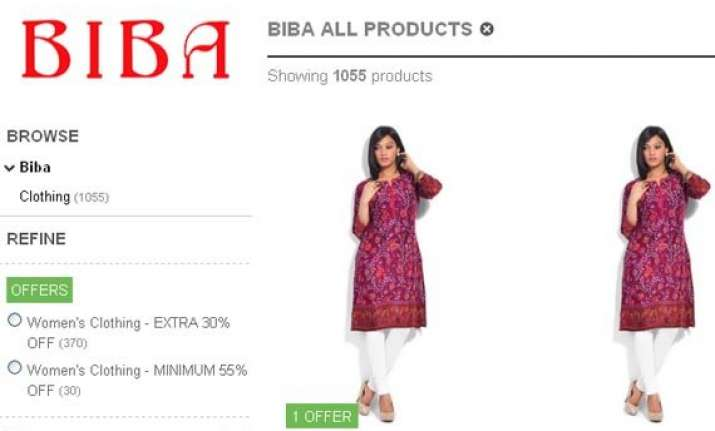 biba launches e commerce portal