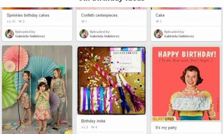 pinterest celebrates its 5th birthday