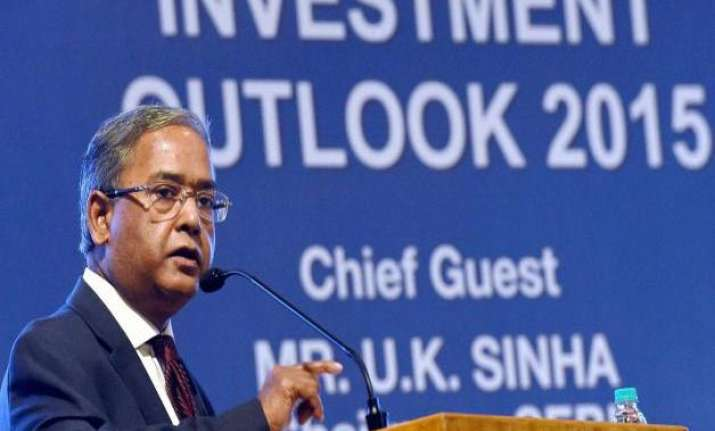 u.k. sinha gets extension as sebi chairman for a year