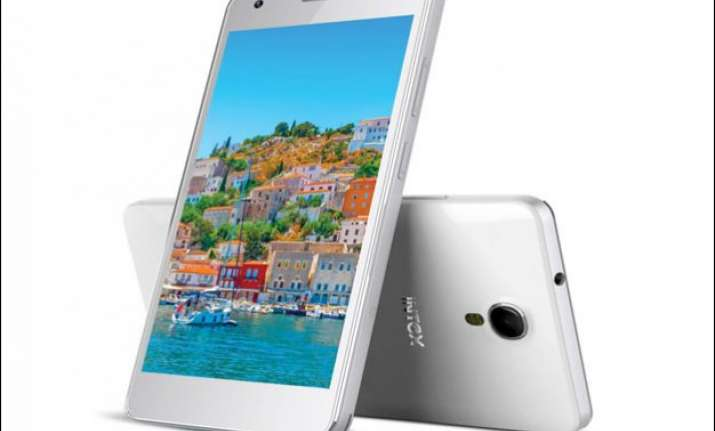 intex launches cloud m6 16gb smartphone exclusively via