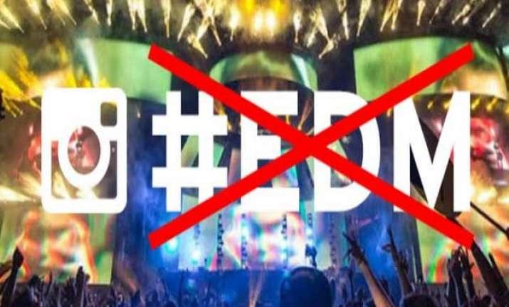 now instagram bans edm hashtag