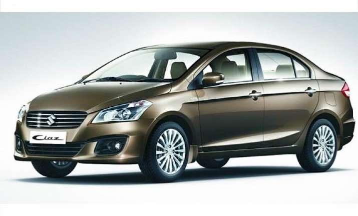 maruti suzuki to launch ciaz sedan today