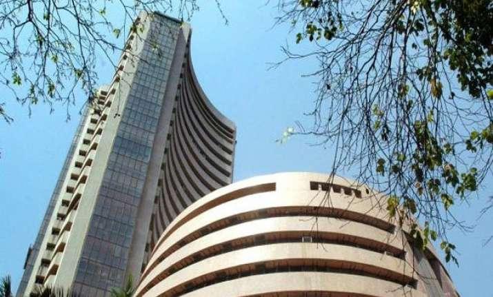 sensex surges 107 points banking stocks gain