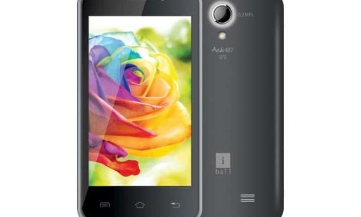 iball andi4 b2 ips with android 4.4 kitkat launched at rs 6