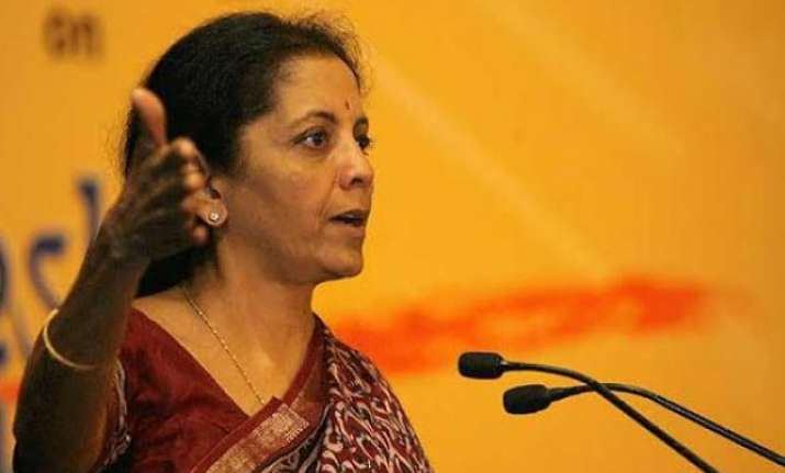 nirmala sitharaman to lead indian delegation to st.