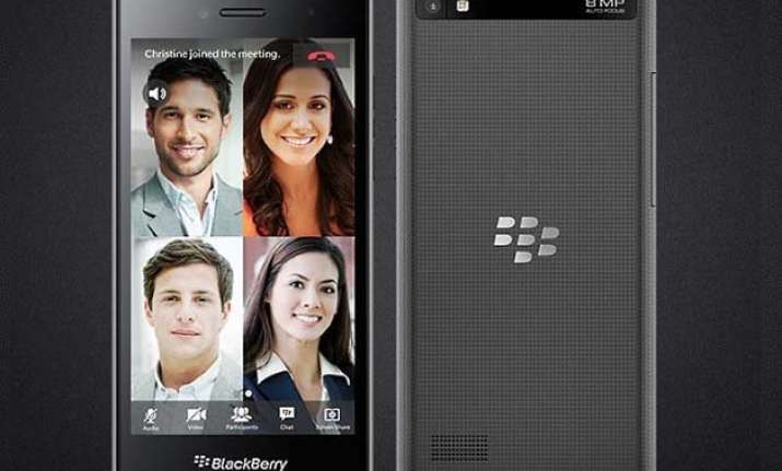 blackberry leap with 5 inch display launched