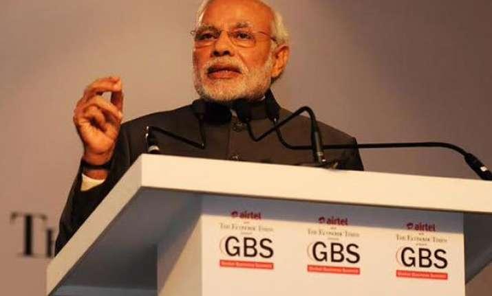 pm modi pitches for making india a 20 trillion economy