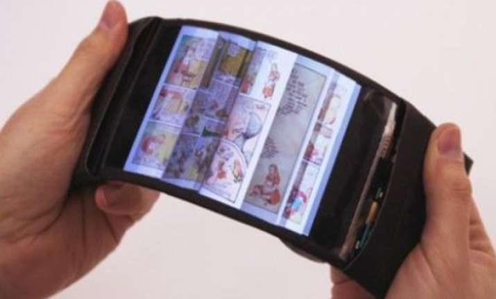 reflex world s first flexible smartphone that bends as well