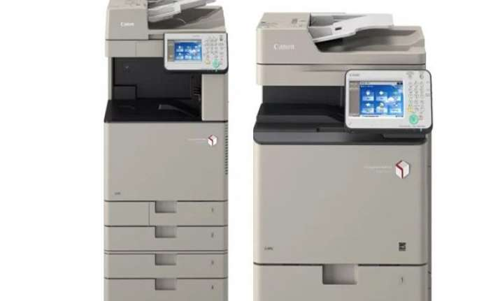 canon launches new series of a3 a4 colour multi function