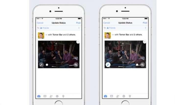 facebook now auto enhances your photos