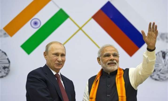 modi putin assure industry of steps to boost bilateral trade