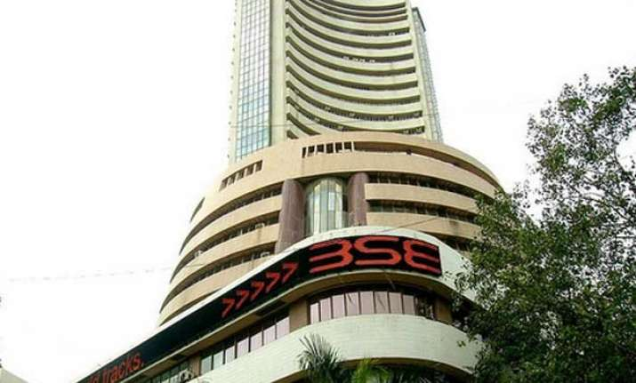 profit booking drags sensex by 302 points down in early