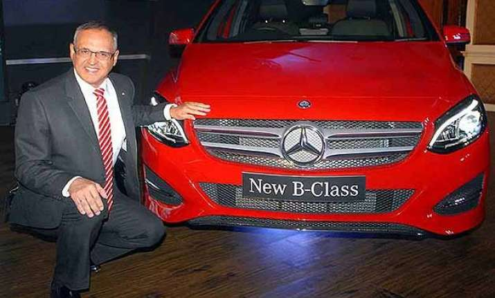 2015 mercedes benz b class facelift launched in india at rs