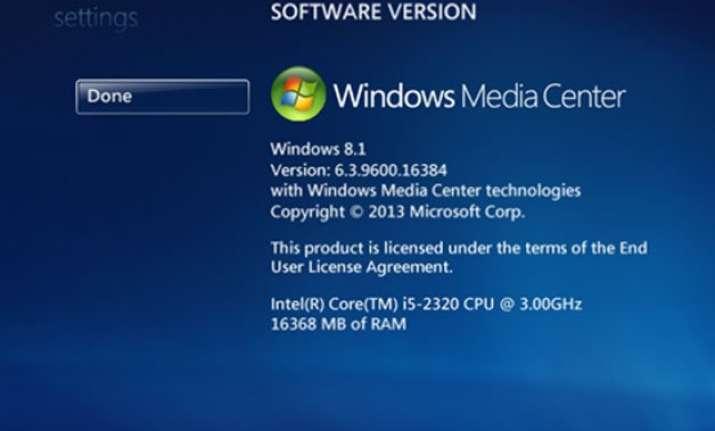 microsoft to kill media center in windows 10