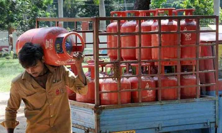 non subsidised lpg rate cut by rs 5 atf to cost more