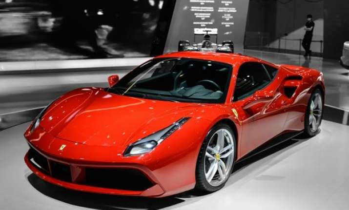 ferrari launches its 488 gtb model in india at rs. 3.88