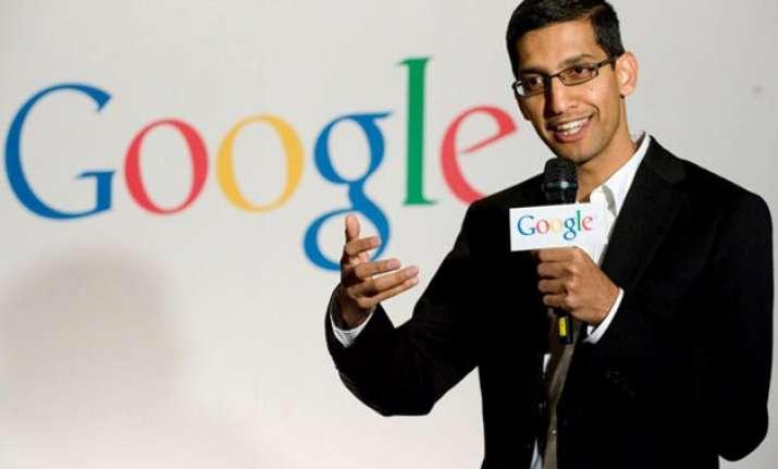 india born sundar pichai is new ceo of google