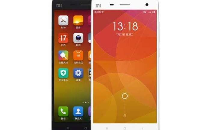 xiaomi mi 4 launched in india at rs 19 999