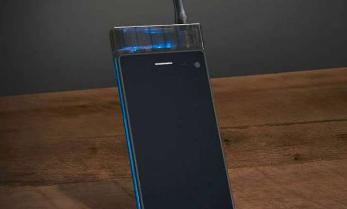 bizarre but true world s first smartphone that lets you