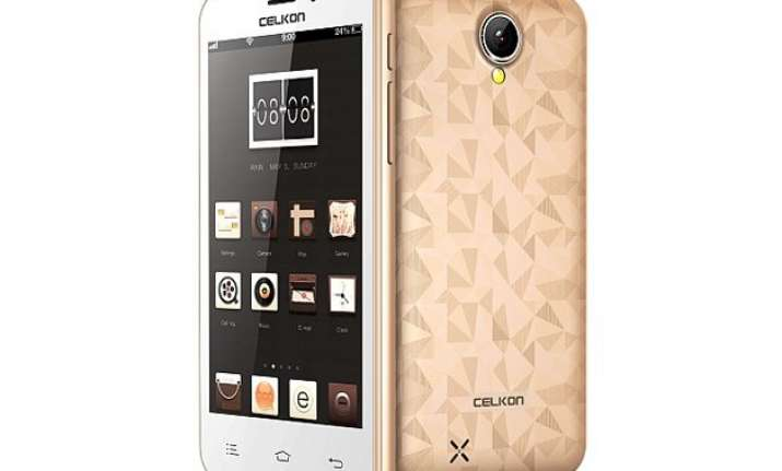 celkon millennia q450 with quad core cpu available in india