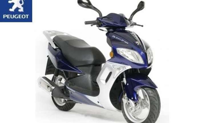 mahindra to buy 51 in peugeot motocycles in scooter push