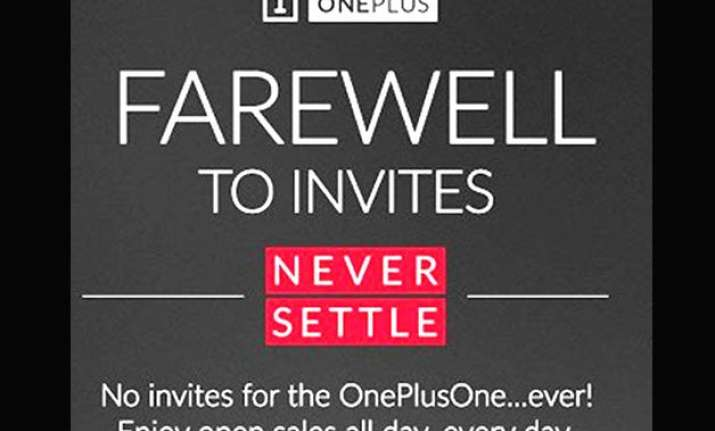 oneplus one smartphone now available without invite