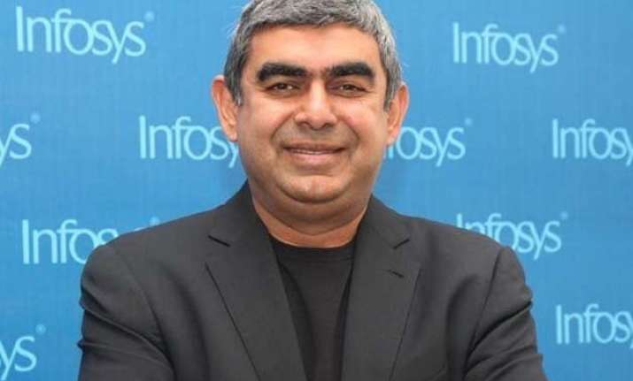 infosys ceo vishal sikka meets pm dedicates rs 1 500 cr to