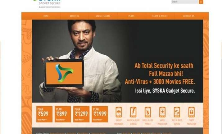 syska launches gadget insurance in india plans start from