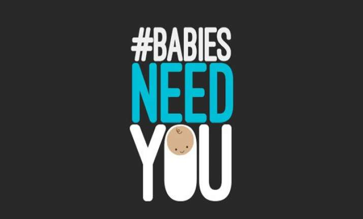 unicef launches babiesneedyou a campaign to promote routine