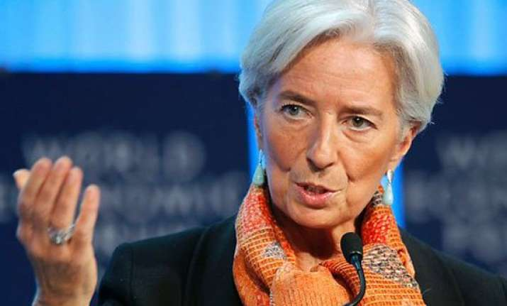 imf chief says global economy at inflection point
