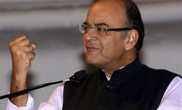 india on track to outpace china s growth rate arun jaitley
