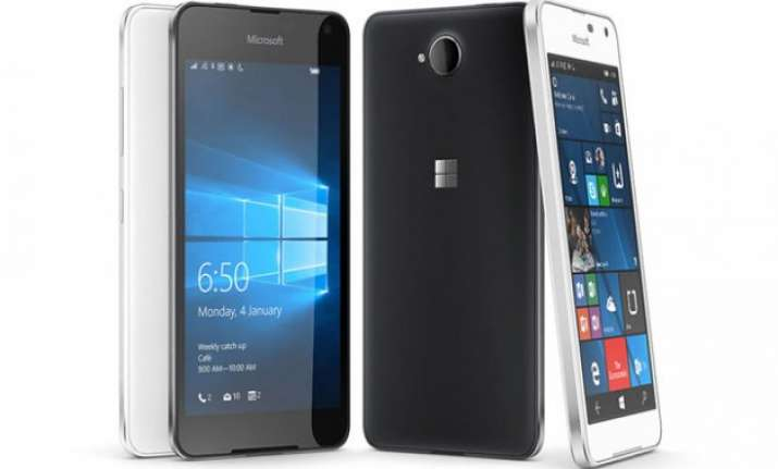 microsoft launches lumia 650 with aluminum and windows 10