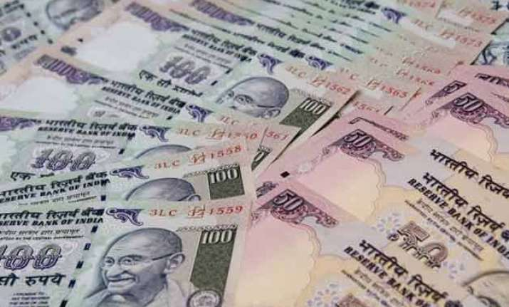 rupee gains momentum up 4 paise against dollar