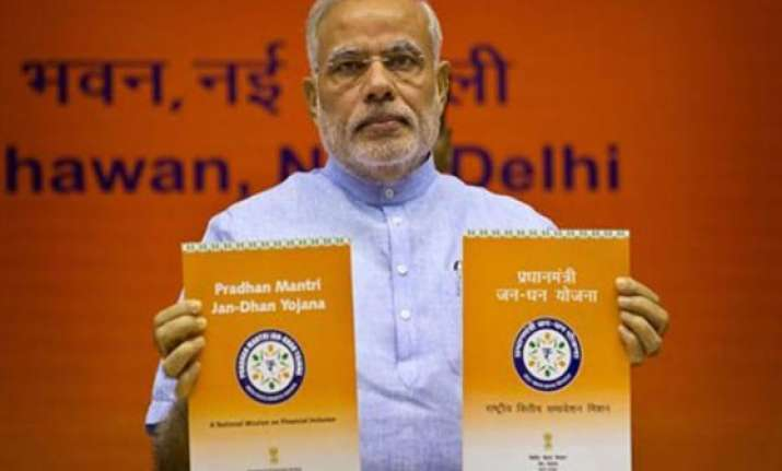 finance ministry launches website for pradhan mantri jan
