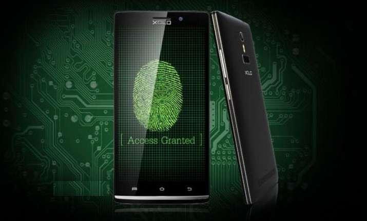 xolo q2100 with fingerprint sensor launched at rs 13 499