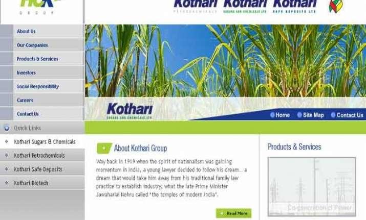 industrialist shyam kothari dies