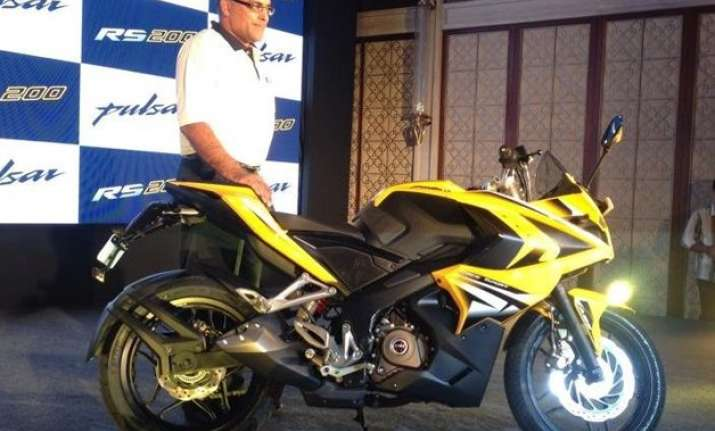 bajaj pulsar rs200 launched in india at rs 1.18 lakh for