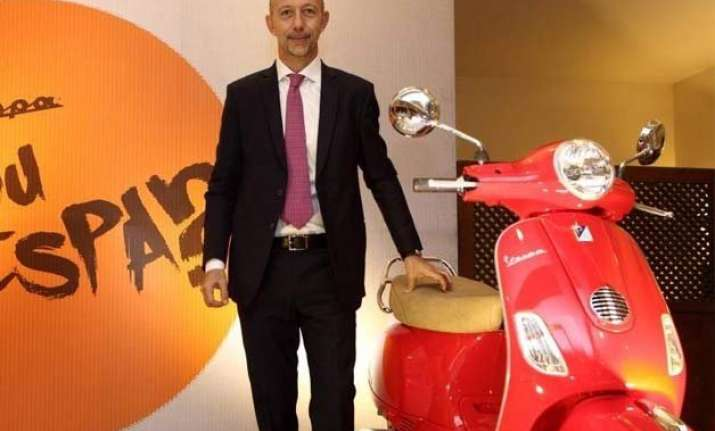 piaggio india launches its first overseas operation in nepal