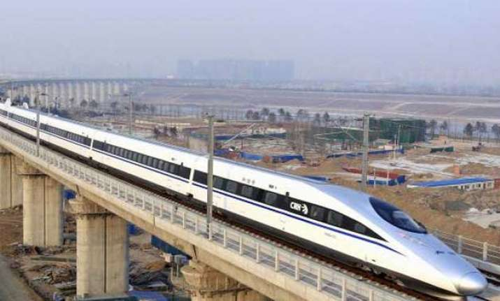 laying of 1 km high speed train track to cost over rs 100 cr