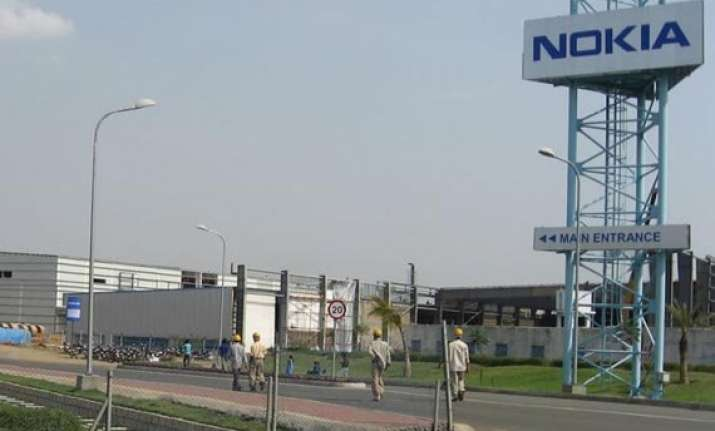 last day of work at nokia s chennai plant to shut from nov 1