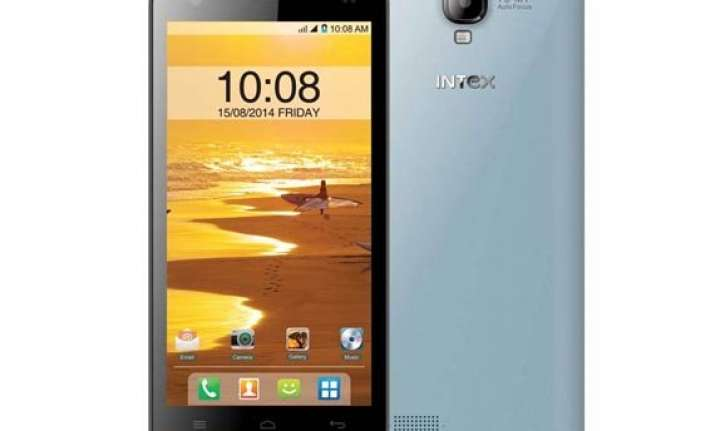intex launches 5 inch aqua amaze at rs 10 690