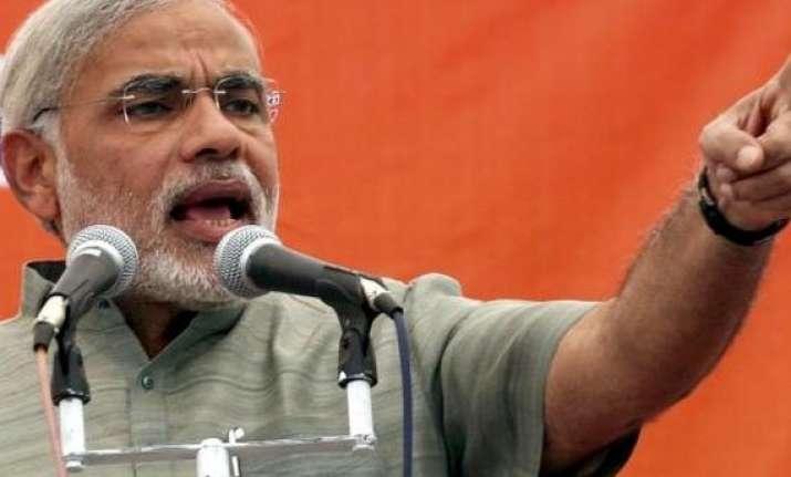 narendra modi calls for a four coloured revolution to take