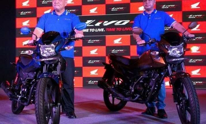 honda launches 110cc bike livo