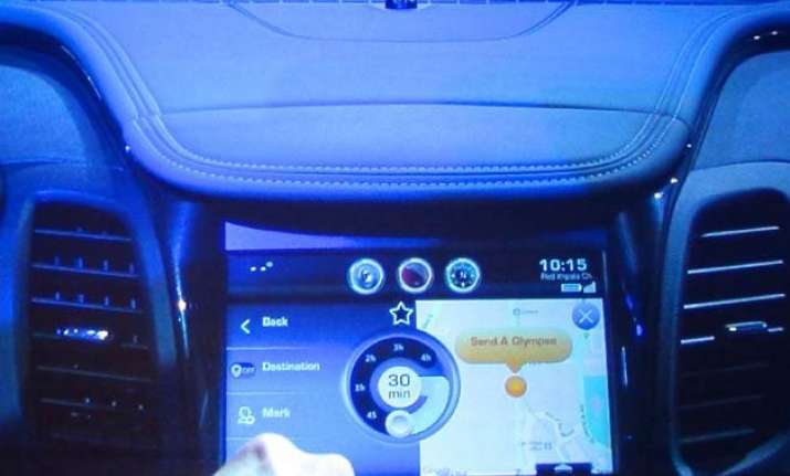 coming to a car near you auto technology at ces 2015
