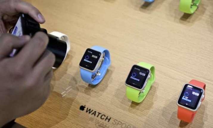 apple unveils smart watch new lighter macbook
