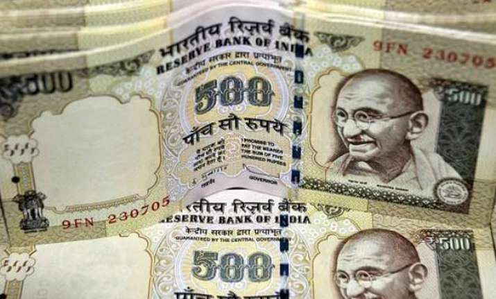 rupee extends gains up 8 paise against dollar