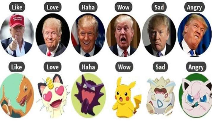 are the new facebook reactions boring swap them with trump