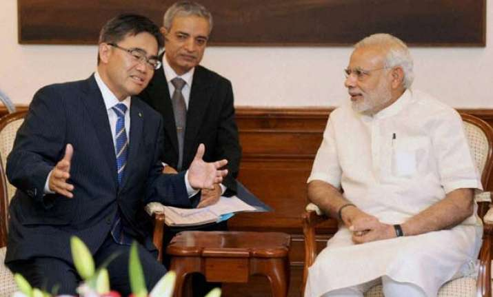 pm modi promises all support to japanese companies