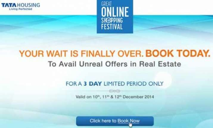 tata housing to sell homes at google s online shopping fest